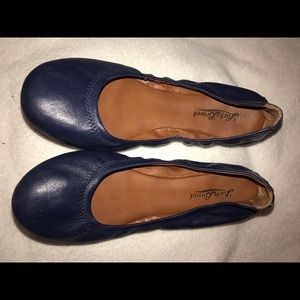 Lucky Emma Navy flats never worn